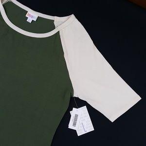 LulaRoe Julia Raglan Dress Size Large